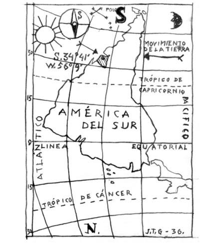 Torres-Garcia 1936 Map
